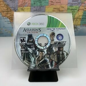 SHIPS-SAME-DAY-Assassin-039-s-Creed-3-Microsoft-Xbox-360-Disc-2-Only-Tested