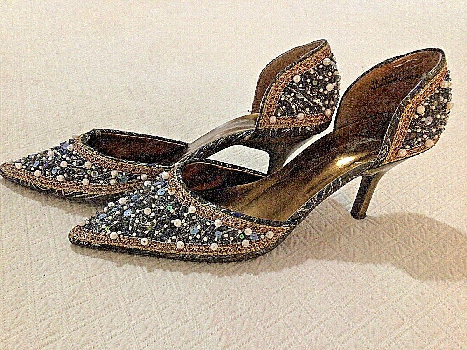 ANNE MICHELLE NINA Rhinestone Embellished Glitter Beads 3