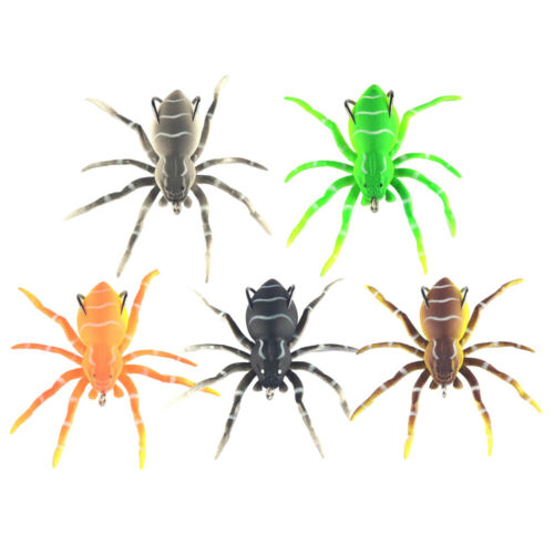 Artificial Soft Spider Fishing Lures Fishing Tackle  Wobbler Bait Supply