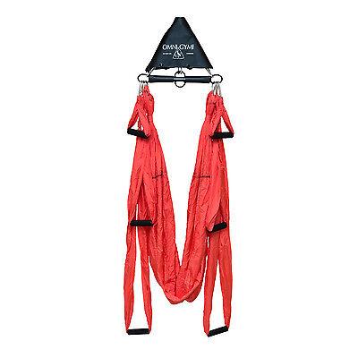 Yoga Swing Inversion Therapy Anti-Gravity Aerial Yoga Hammock Large Bearing New