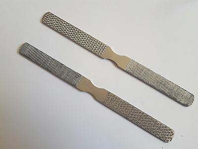 1 x Pet HOOF Nail RASP Double sided VETERINARY INSTRUMENTS 6/'/' STAINLESS