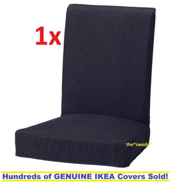 Wondrous Ikea Henriksdal Chair Cover Slipcover Vansta Dark Blue 21 25 54Cm New Sealed Machost Co Dining Chair Design Ideas Machostcouk