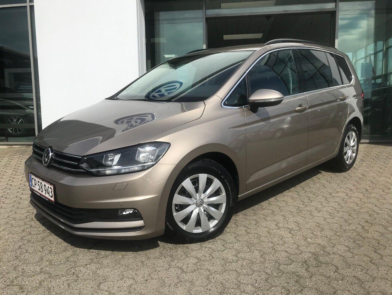 VW Touran 1,5 TSi 150 Comfortline DSG 7prs 5d - 330.000 kr.