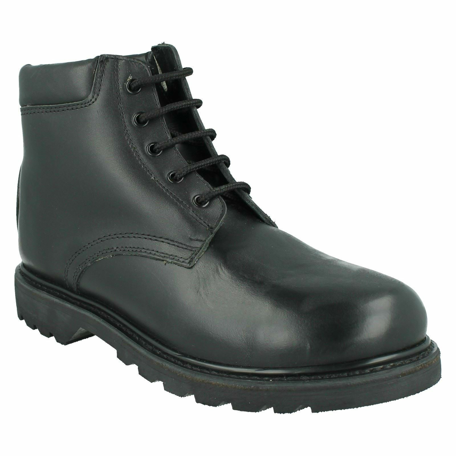 Hombre 84732 / 01514 LACE UP OIL RESISTANT CASUAL WORK WORK WORK WINTER LEATHER ANKLE botas ba5cee