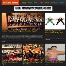 Established Figures And Playsets Store Online Business Website For Sale