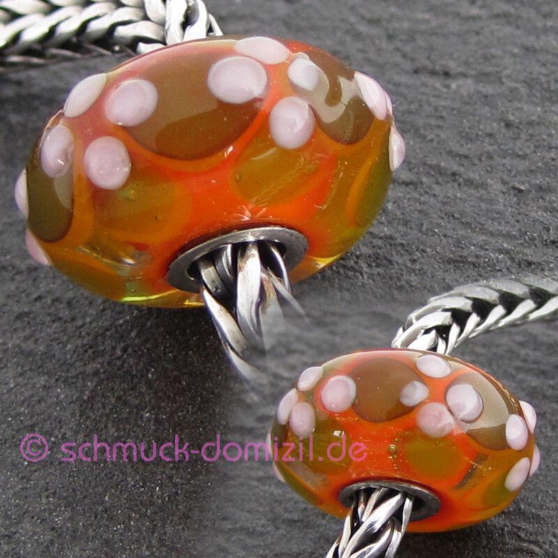TROLLBEADS Glasbead Unikat OOAK - 3057