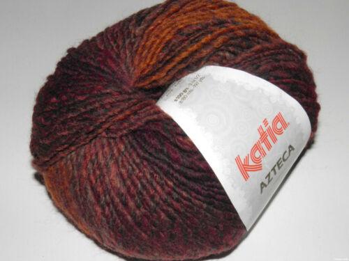 AZTECA KATIA Farbverlauf 7819 Wolle Strickwolle Schurwolle Stricken Mütze Loop