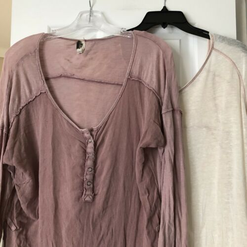 Lot of 2 We the Free People Size M Medium Comfy Bo