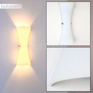 Dettagli su Luce Parete Vetro Bianco Lampada Muro Applique Scale Ingresso  Corridoio Salotto
