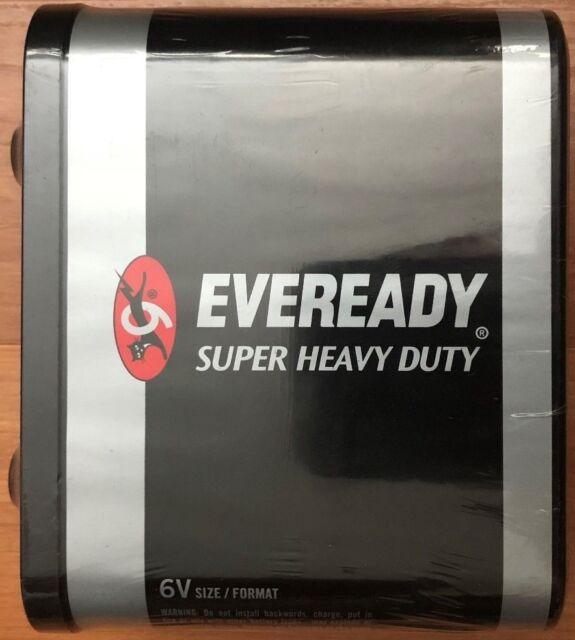 Eveready 6v Lantern Battery 1231