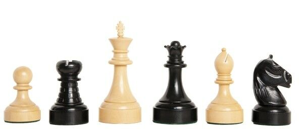 The Mechanics Institute Luxury Commemorative Chess Set - Pieces Only Only Only - 4.25  Kin b11864