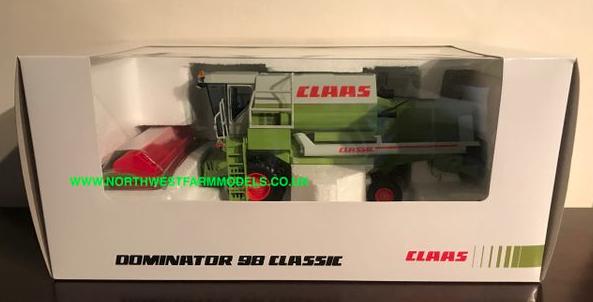 Replicagri 1 32 échelle Claas Dominator 98 Classic édition limitée