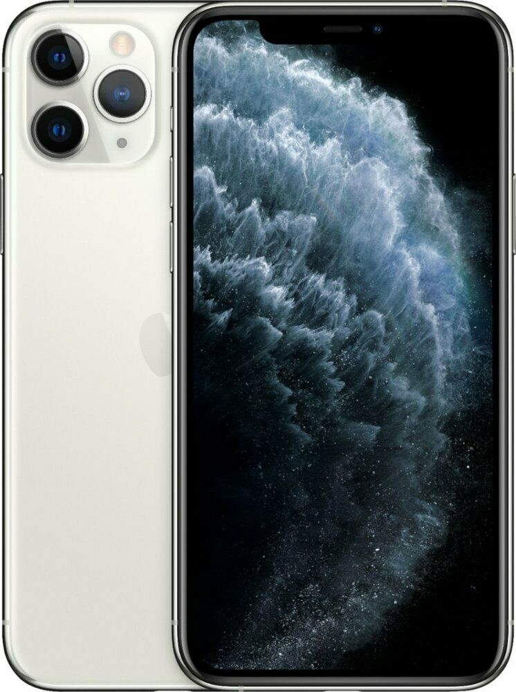 Apple iPhone 11 Pro 256GB Silver LTE Cellular AT&T MW9H2LL/A