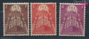 Luxembourg-572-574-complete-issue-with-hinge-1957-Europe-8669994