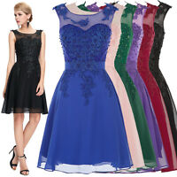 Teen Cocktail Party Evening Bridesmaid Formal Prom Short Graduation Dress Hot
