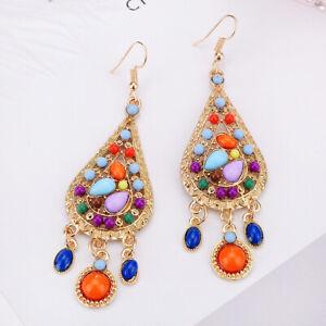Fashion-Drop-Long-Hook-Tassel-Vintage-Dangle-Boho-Bohemian-Earrings-Dangle-Women
