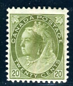 CANADA 1898 72A * schöne MARKE 500€(D9980