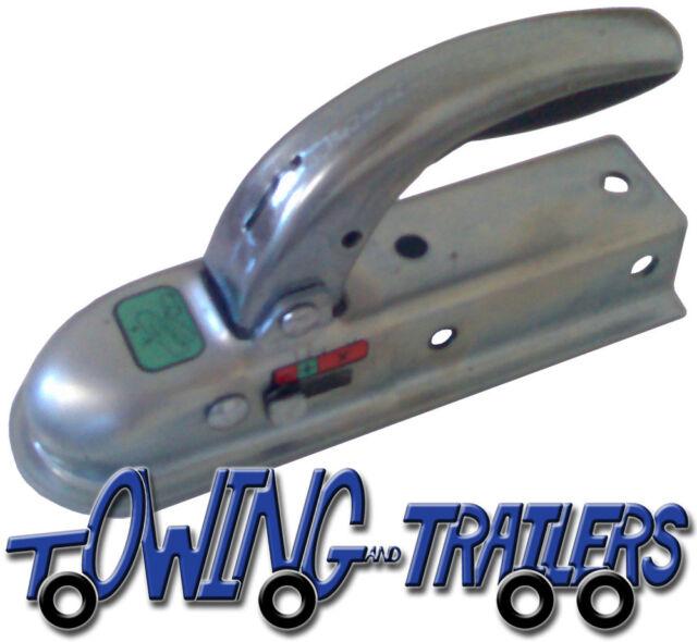 Genuine Knott Avonride Trailer Pressed Steel Hitch Coupling 50mm Box 1400kgs