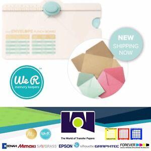 We R Memory Keepers 660541 Mini Envelope Punch Board