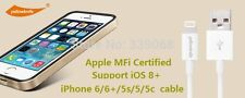 Original MFI Certified Lightning 8pin USB  Cable for iPhone 6 6Plus 5S 5 5c iPad