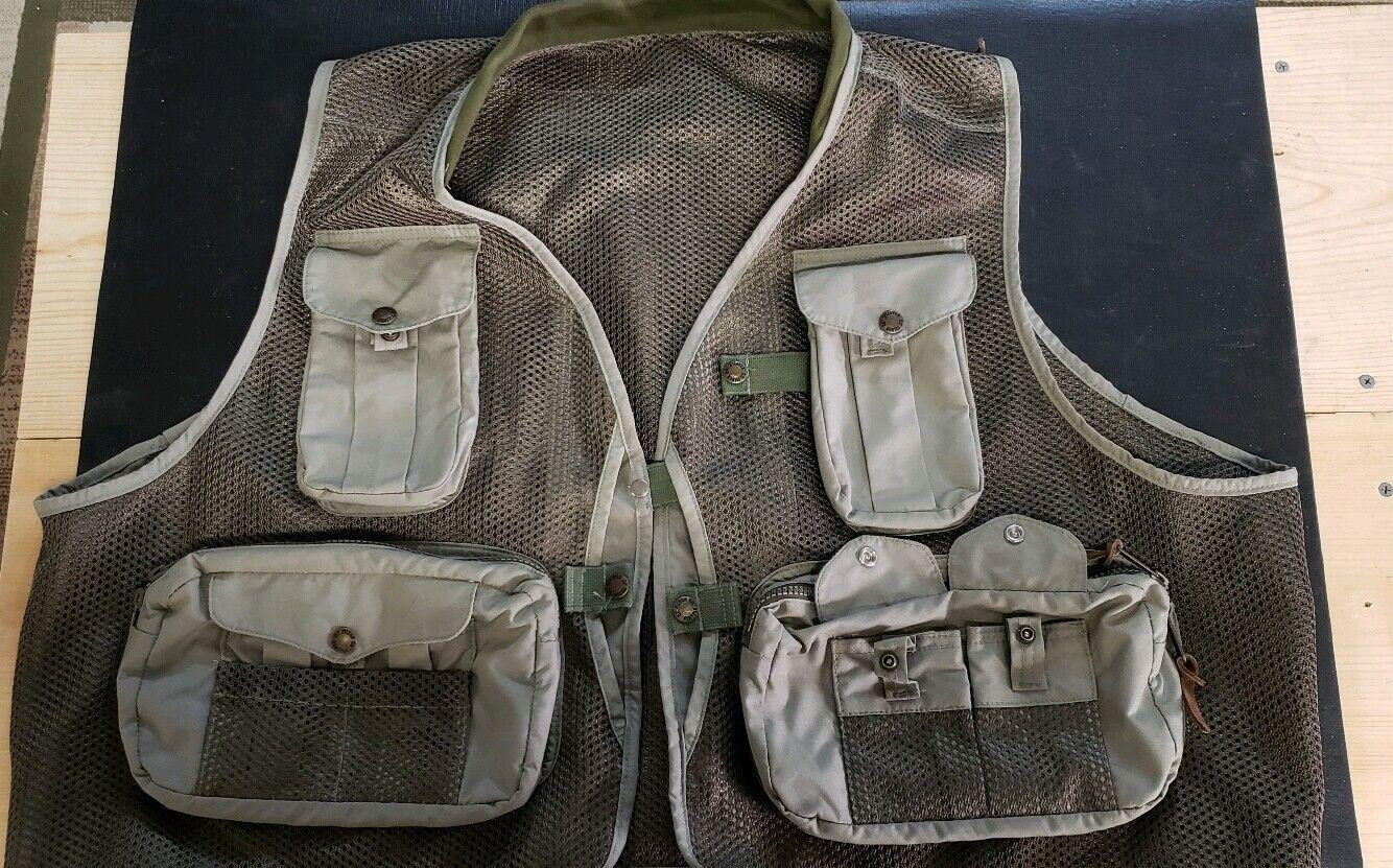 Filson Mesh Fly Fishing Vest - - - Dimensione XX gree e89