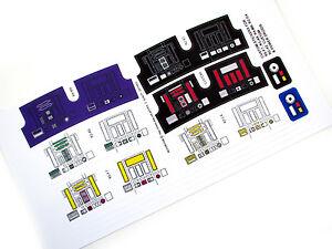 DIE CUT STICKERS For STAR WARS VINTAGE RD CUSTOM VARIATIONS P - Star wars custom die cut stickers