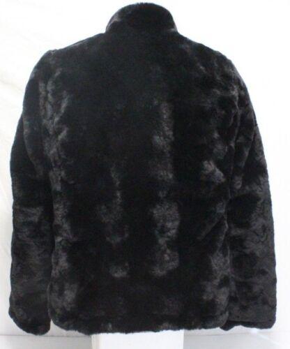 donna sintetica Giacca zip da in pelliccia a Miller Varietà reversibile nuova piumino intera Nicole con Rww7ABcq