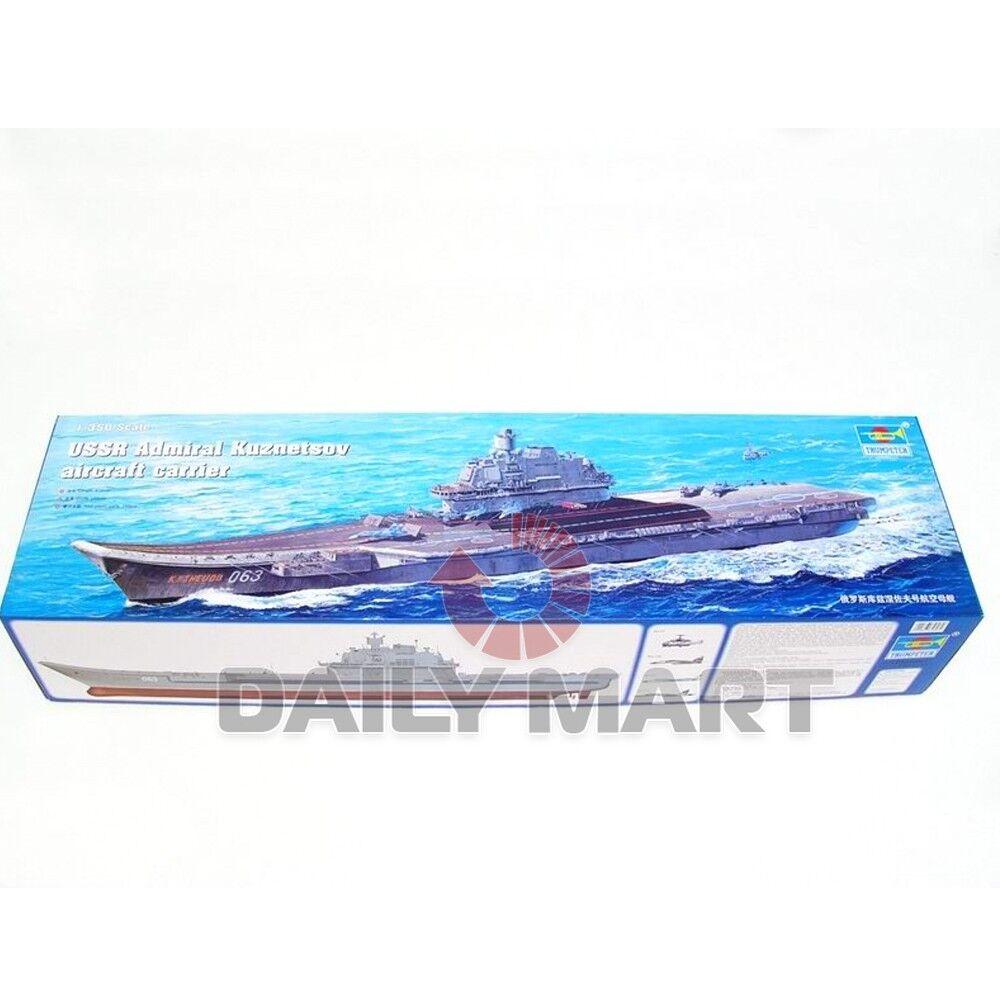 Trumpeter 1 350 05606 USSR Admiral Kuznetsov aircraft carrier Model Kit
