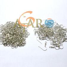 200 Jewellery Making Accessories Earrings Hook & Jump Ring each 100pcs