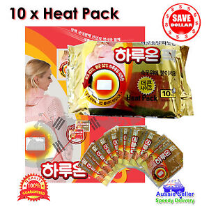 10pc-Haruon-Pack-Instant-Heat-Patch-Body-Warmer-Hot-Pad-Heating-warm-14-hours