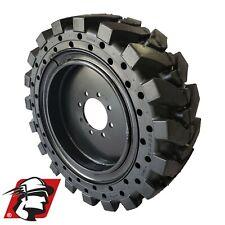 12x165 Maximizer Gt Tire Solid Skid Steer Tires 4 Tireswheels Volvo 12 165