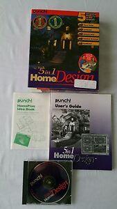 PUNCH! 5 in 1 3D Home Design, Landscaping, Deck, etc   eBay