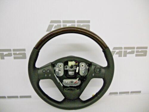 New GM 04-07 Cadillac CTS  leather Steering Wheel Genuine Burl wood grain