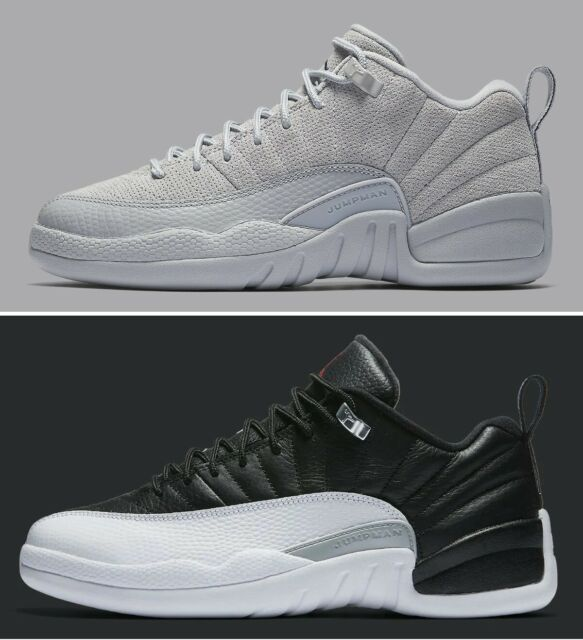 best website 9ab95 9421f Nike Air Jordan 12 Retro Low XII Georgetown Cool Wolf Grey Suede Aj12  308317-002