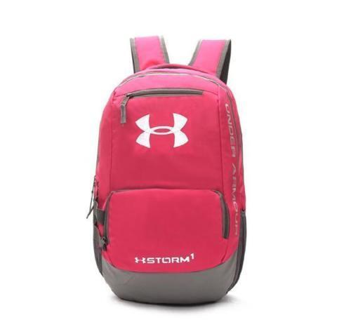 "New arrival UA Storm Hustle Backpack 15/"" Water-Resist Laptop Camping Bag"