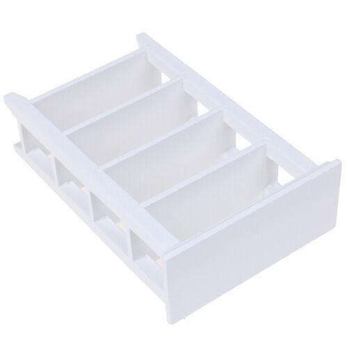 1//12 Dollhouse Miniature Furniture White Wooden Shelf Accessories Model Toys KQ