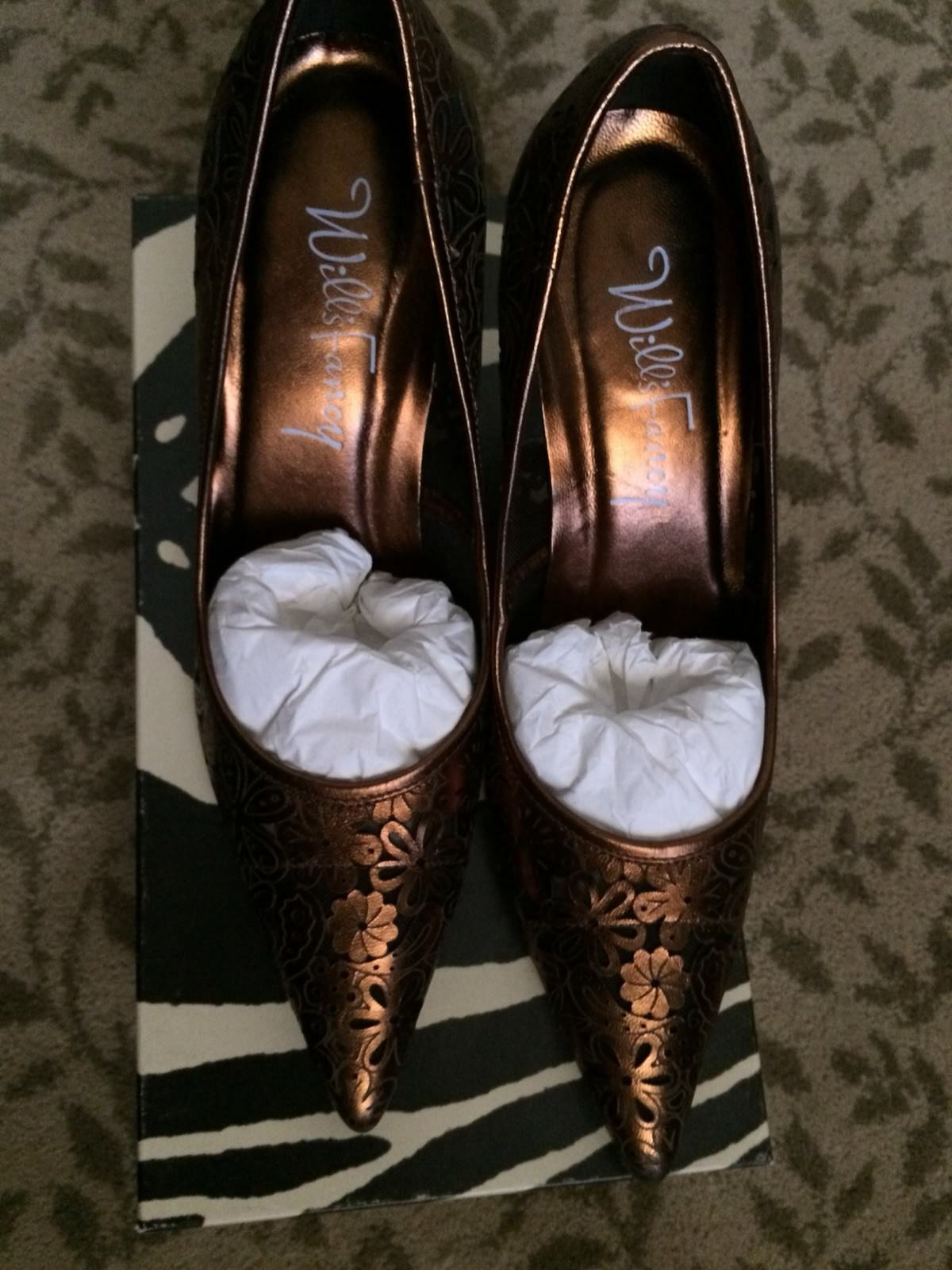 Will's Fancy Tobacco Metallic Tobacco Fancy Shoes dedae1