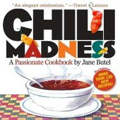 Chili Madness: A Passionate Cookbook, Jane Butel, Very Good Book