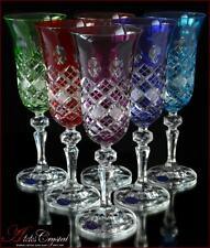 Bohemia Crystal Champagne Glasses 21 cm, 180 ml, Memfis 6 pc New!