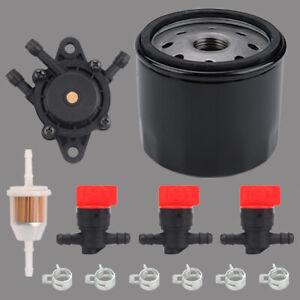 Air Oil filter For Kohler 7000 series engine 32 083 09-S 12 050 01-S /& Fuel pump