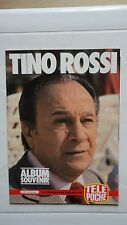 ALBUM SOUVENIR TINO ROSSI TELE POCHE SUPPLEMENT HORS SERIE 1983