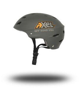**NEW** AXEL OFFROAD UTV Trail Helmet Matte Charcoal Size X-Small XS