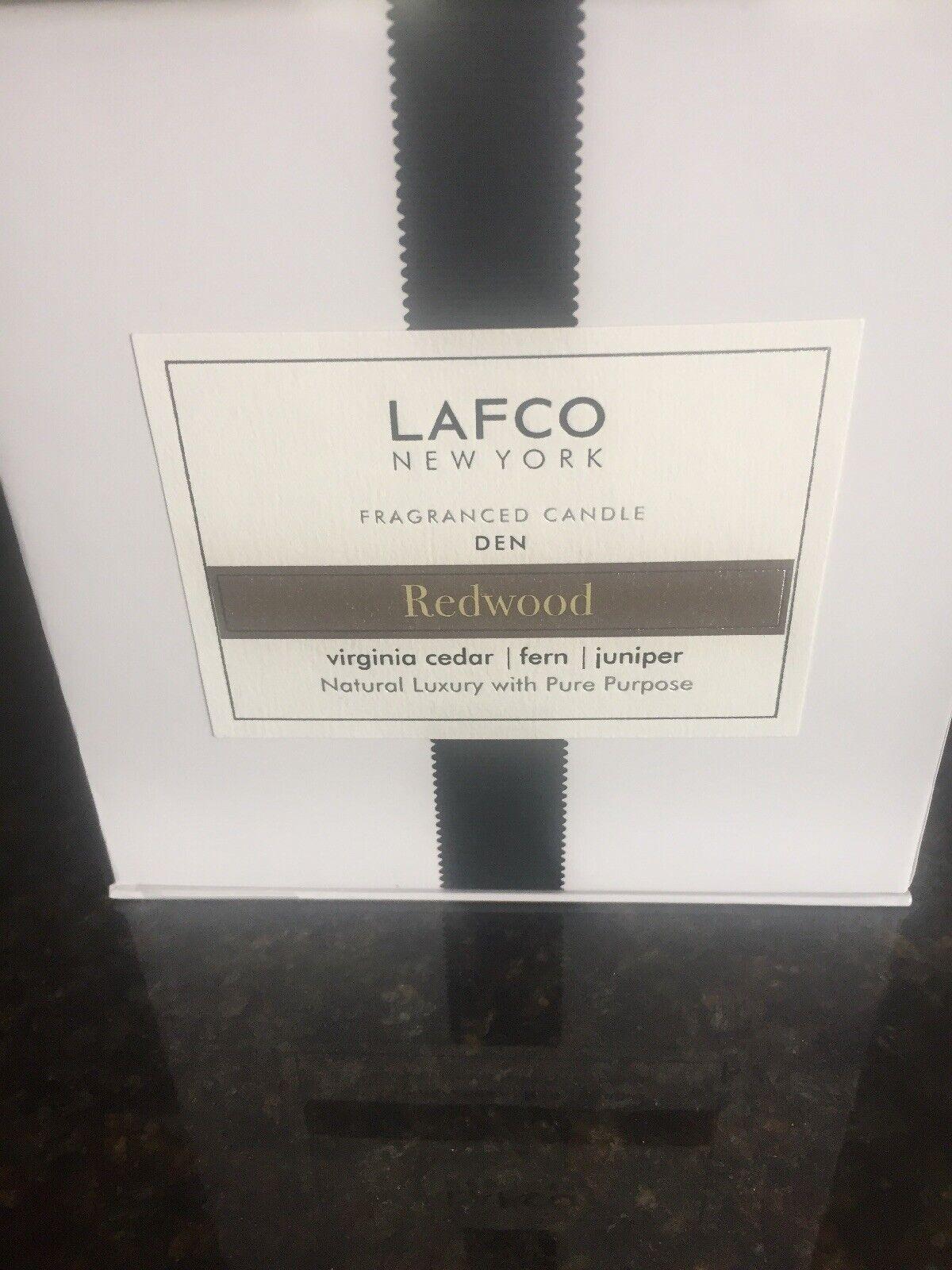 Lafco Den rotwood Luxury Candle Virginia Cedar Fern Juniper 15.5 oz Soy Wax