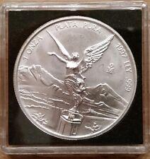México: plata-libertad 1997, (Lika), 1 onza plata pura, unc., rara vez!