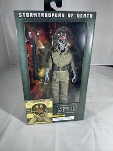 """NECA-Stormtroopers of Death-Sergent d 8/"""" Scale Clothed Action Figure"""