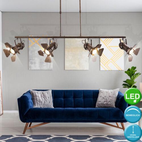 LED Tisch Lampe rost Spots verstellbar Decken Hänge Wand Schein Werfer Leuchten