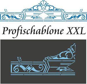 Schablonen-Wandschablone-Malerschablone-Stupfschablone-Dekor-Tuerbekroenung