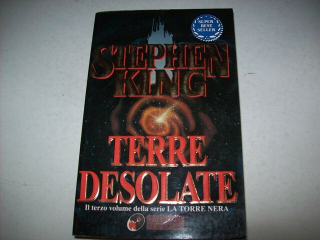 STEPHEN KING TERRE DESOLATE SUPERBESTSELLER SPERLING 519 3°ROMANZO LA TORRE NERA