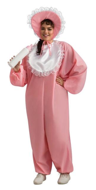 Big Baby Girl Pajamas Pyjamas Fancy Dress Up Halloween Plus Size Adult Costume