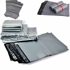 """1000 Grey 17/"""" x 24/"""" Mailing Postage Postal Mail Bags"""